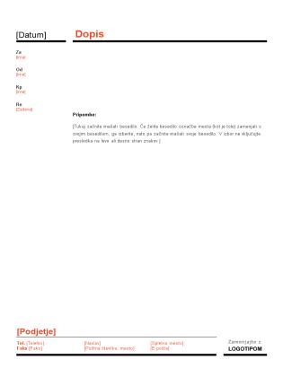 Poslovni zapiski (rdeč in črn načrt)