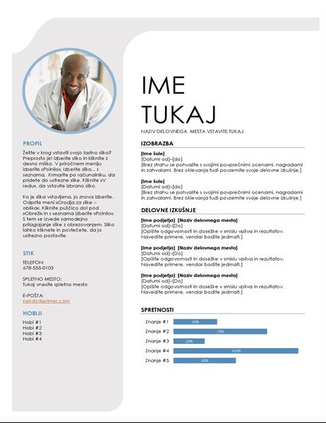 Modro sivi življenjepis