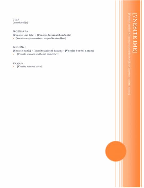 Življenjepis (tema »Altana«)