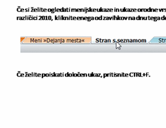 Delovni zvezek z opisom traku strežnika SharePoint Server