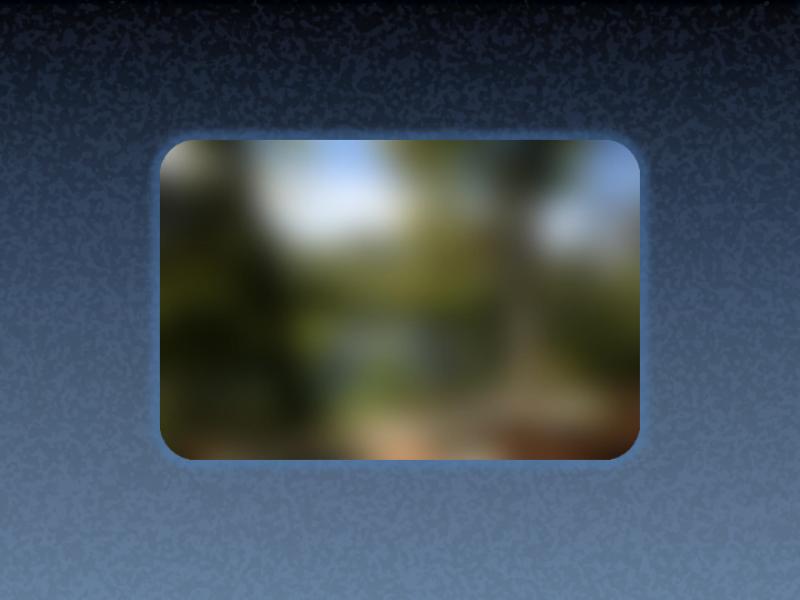 Odtemnitev animirane slike v fokus
