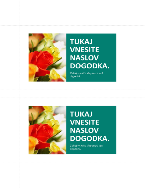 Promocijske razglednice (2 na stran)