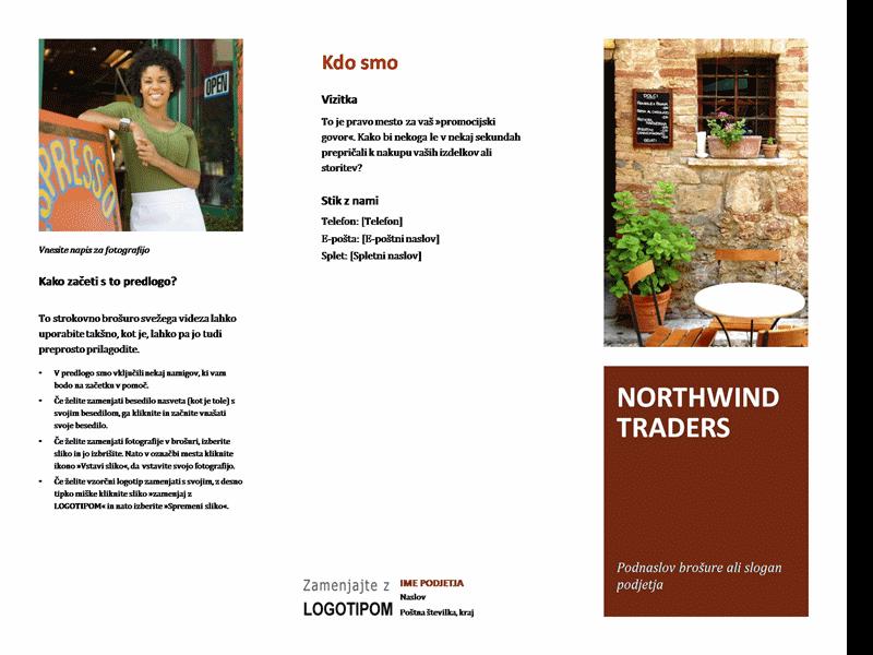 Majhna poslovna brošura