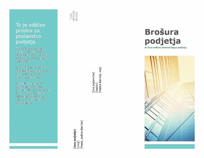 Brošura (poslovna)