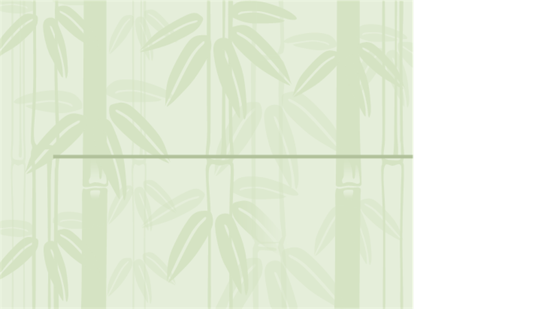 Predloga načrta z motivom bambusa 2