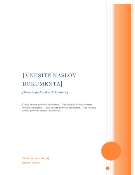 Poročilo (načrt Altana)