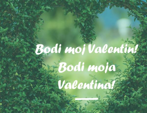 Voščilnica za valentinovo (zložljiva na pol)