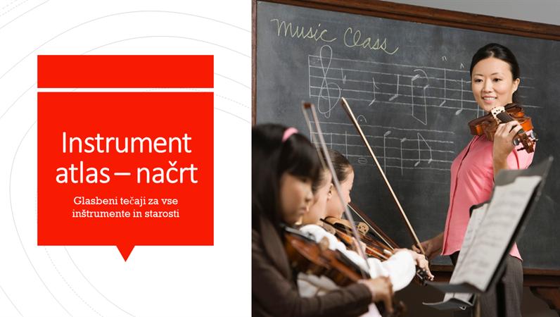 Instrument atlas – načrt