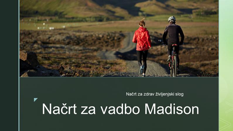 Načrt za vadbo Madison