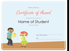 Priznanje (osnovnošolci)