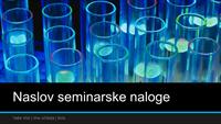 Predstavitev znanstvenega projekta (širokozaslonska)
