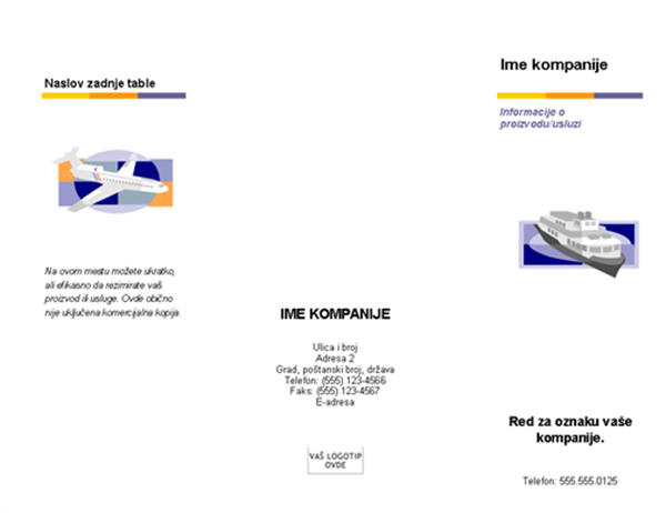 Brošura (nivoi)
