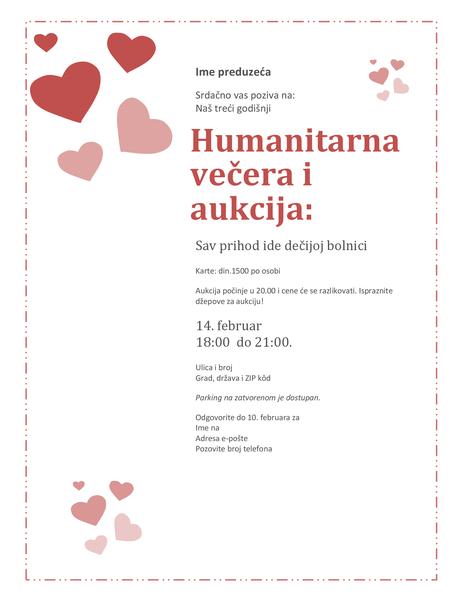 Poziv na aukciju za Dan zaljubljenih