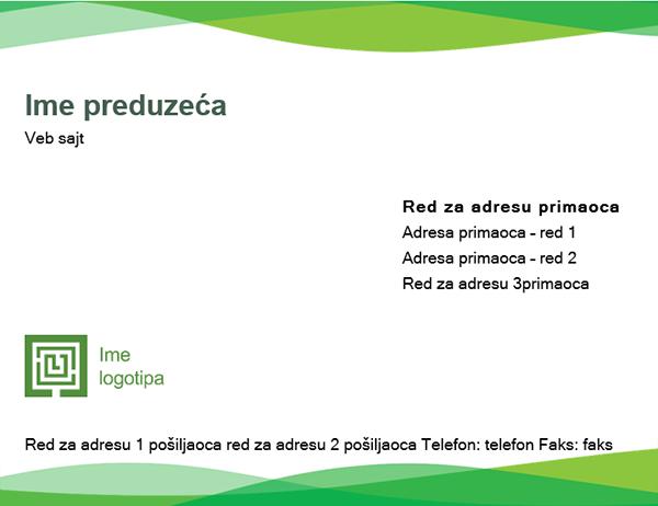 "Košuljica (dizajn ""Zeleni talas"")"