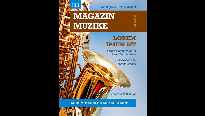 Naslovne stranice muzičkih časopisa