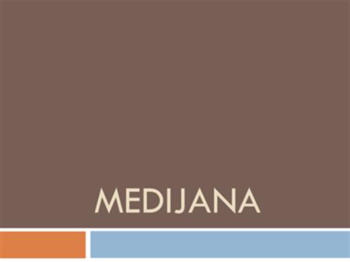 Medijana