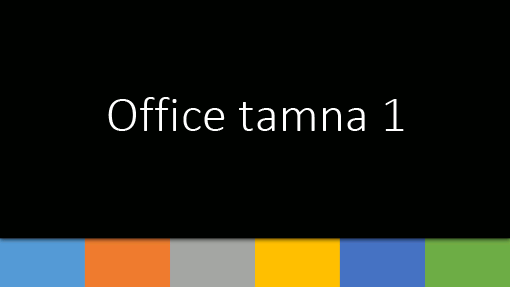 Office - tamna 1