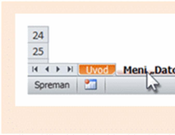 Access 2010: referentna radna sveska za prelazak sa menija na traku