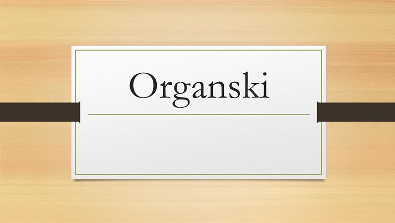 Organska