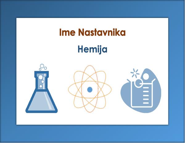 Znak za učionicu (hemija)
