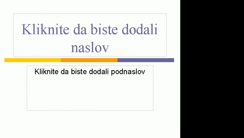 """Prezentacije (tema """"Nivo"""")"""