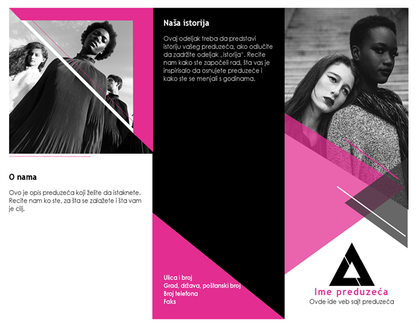 Modna brošura