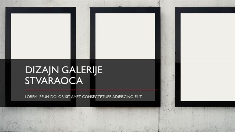 Maker Gallery dizajn