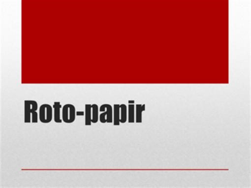Roto-papir