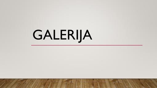 Galerija
