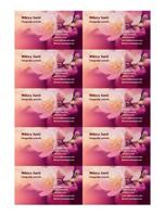 Vizitkarte (slika cveta)