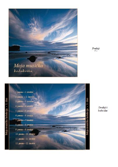 Omot za CD Moja muzička kolekcija