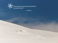 Animirana snežna scena