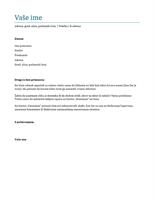 Propratno pismo (plavo)
