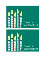 Razglednica – pozivnica za rođendan