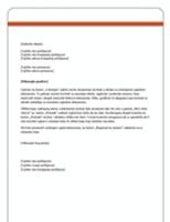 Pismo (dizajn za akcionarski kapital)