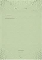 Predložak za lična pisma (elegantni sivozeleni dizajn)