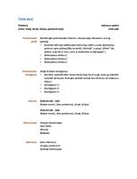 Rezime (Funkcionalni dizajn)