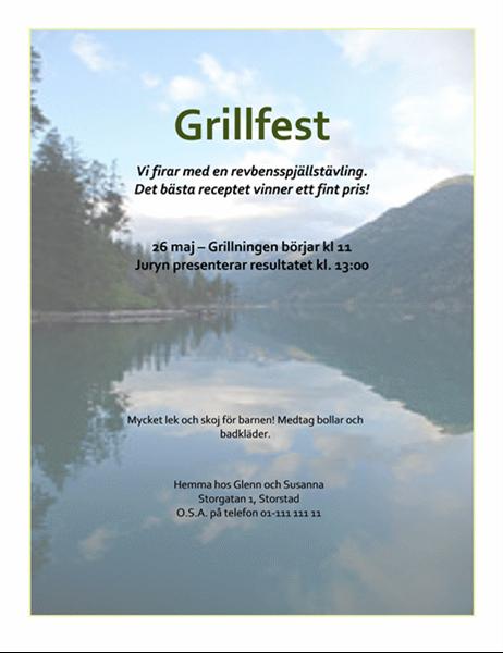 Grillfest (flygblad)