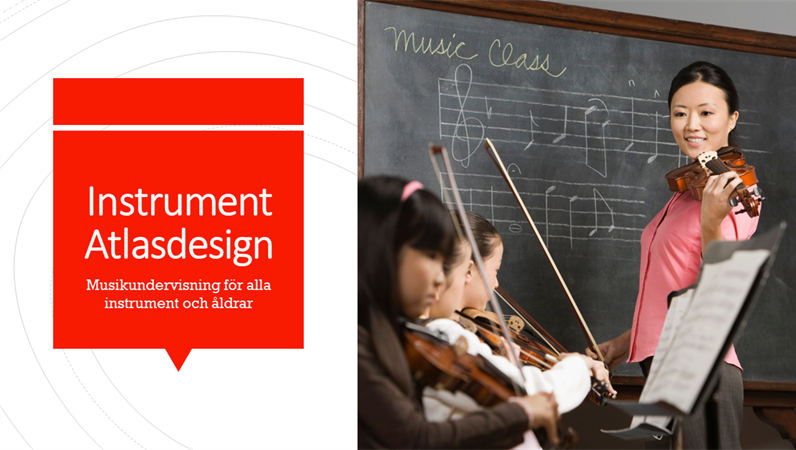 Designen Instrumentatlas