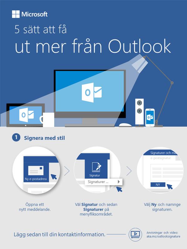 5 sätt att få ut mer från Outlook