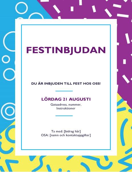 Festflygblad