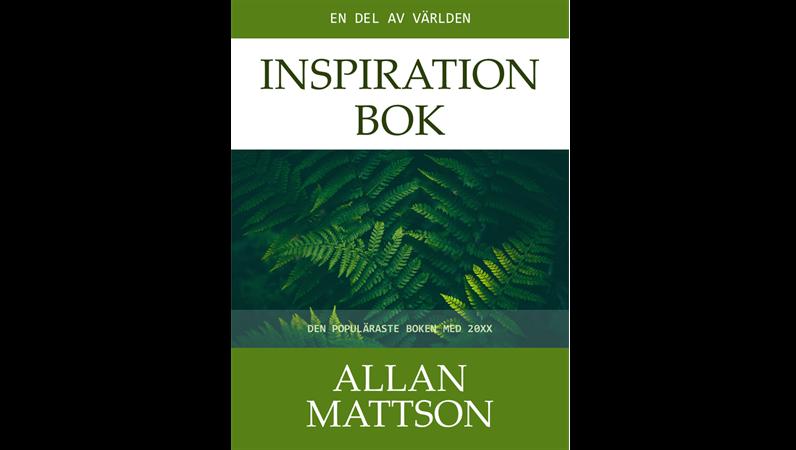 Omslag till inspirationsbok