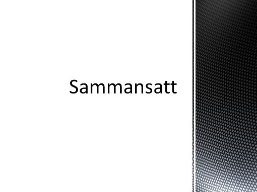 Sammansatt