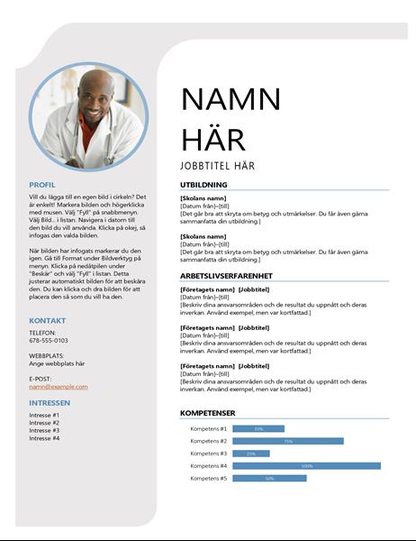 Blågrått CV