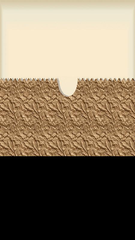 Formgivningsmall – brun väska