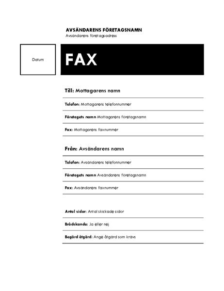 Fax (fält)