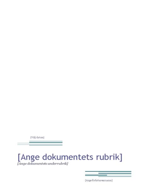 Rapport (strikt)