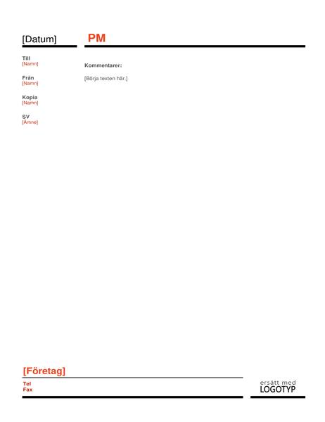 Företags-PM (röd)