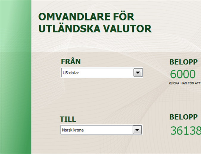 Valutaomvandlare