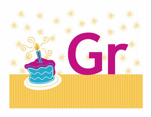 Grattis-banderoll